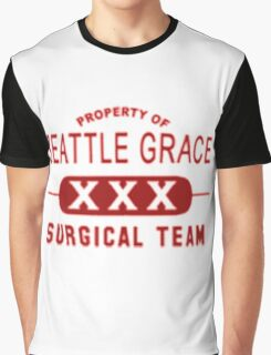 Property of Seattle Grace in Red  Graphic T-Shirt