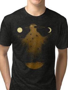Crow Moon Shaman Tri-blend T-Shirt