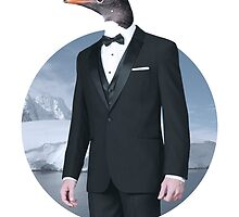 Mr Penguin by AtifDesigns