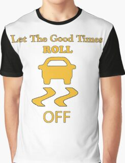 traction control off Graphic T-Shirt