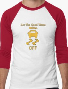 traction control off Men's Baseball ¾ T-Shirt