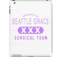 Property of Seattle Grace in Purple  iPad Case/Skin