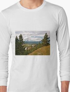 Mountain Scene Long Sleeve T-Shirt