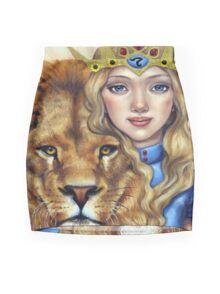 Leo Girl Mini Skirt