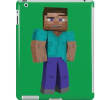Minecraft Steve iPad Case/Skin