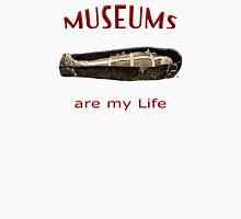 Museums Are My Life Womens Fitted T-Shirt