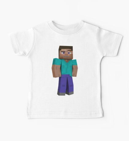 Minecraft Steve Baby Tee