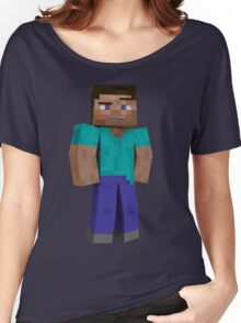 Minecraft Steve Women's Relaxed Fit T-Shirt