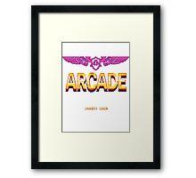 Arcade: Insert Coins Framed Print