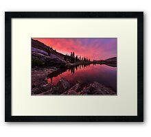 Utah's Cecret Framed Print