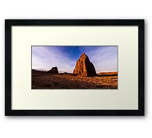 Cathedral Temples Framed Print