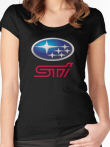 Subaru STI Women's Fitted Scoop T-Shirt
