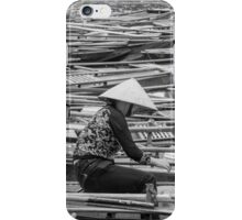 Vietnamese Boat Lady in Tam Coc iPhone Case/Skin