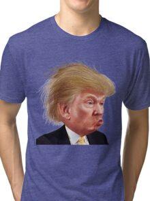 Donald Trump Funny Meme Tri-blend T-Shirt