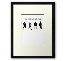 CS:GO - Character Select Framed Print