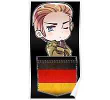 Germany Chibi Pocket Poster