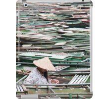 Surrounded -Vietnamese Boat Lady iPad Case/Skin