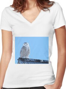 No Runway Required Women's Fitted V-Neck T-Shirt