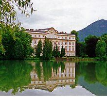 Schloss Leopoldskron, Salzburg, Austria by Margaret  Hyde