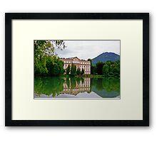 Schloss Leopoldskron, Salzburg, Austria Framed Print