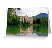 Schloss Leopoldskron, Salzburg, Austria Greeting Card