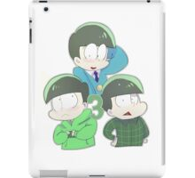 3 Choromatsus iPad Case/Skin
