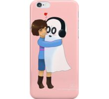 Squishy Hugs for Napstablook iPhone Case/Skin