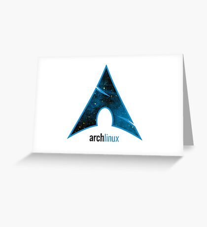 Arch Linux Greeting Card
