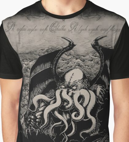 Cthulhu - Rise Great Old One Graphic T-Shirt