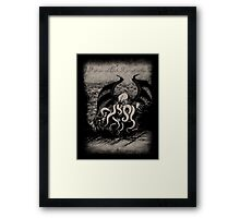 Cthulhu - Rise Great Old One Framed Print