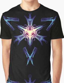 Energetic Geometry - Cybernetic Synaptic Control Theorem Graphic T-Shirt