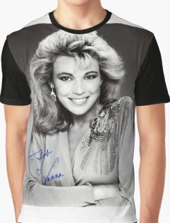 "Vanna White  B/W Autographed Photo ""To Bob"" Graphic T-Shirt"