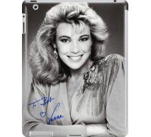 "Vanna White  B/W Autographed Photo ""To Bob"" iPad Case/Skin"