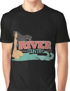 River Country. Just around the river bend ...  Graphic T-Shirt