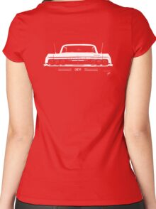 BIG AS Chevy Impala © Women's Fitted Scoop T-Shirt