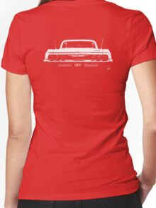 BIG AS Chevy Impala © Women's Fitted V-Neck T-Shirt