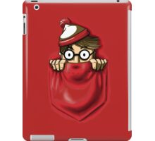 Right Under Your Nose iPad Case/Skin