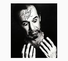 "George Carlin B/W Autographed Photo ""Hi Robert"" Unisex T-Shirt"