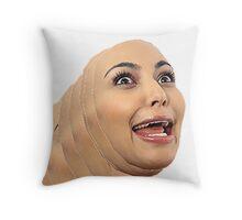 Kim Kardashian  Throw Pillow