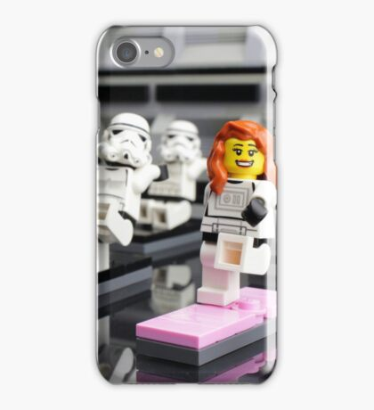 Stormtrooper Yoga iPhone Case/Skin