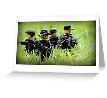 LEGO Navy SEALs Greeting Card