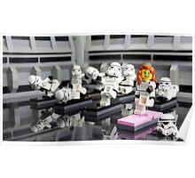 Stormtrooper Yoga Poster