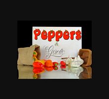 Peppers and garlic. Unisex T-Shirt