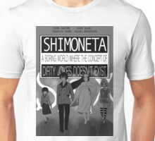 straight out of ecchi Unisex T-Shirt