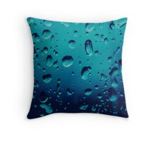 The Bluest of Water Throw Pillow
