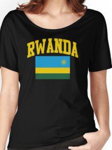 Rwanda Flag t-shirt Women's Relaxed Fit T-Shirt