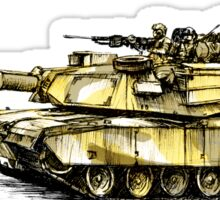 M1 Abrams Main Battle Tank Sticker