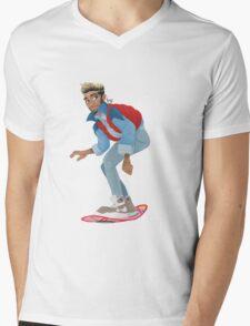 Back to the zuture Mens V-Neck T-Shirt