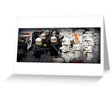 Stormtrooper Riots Greeting Card