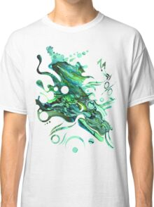 Approaching Eleven Percent From Behind  - Watercolor Painting Classic T-Shirt